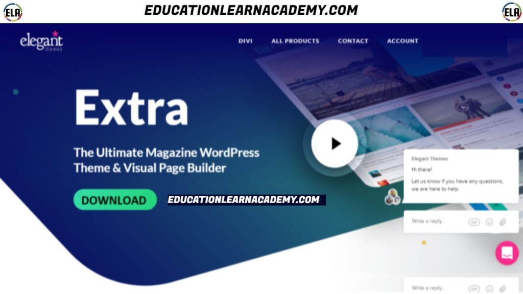Free Download Extra Theme EDUCATIONLEARNACADEMY