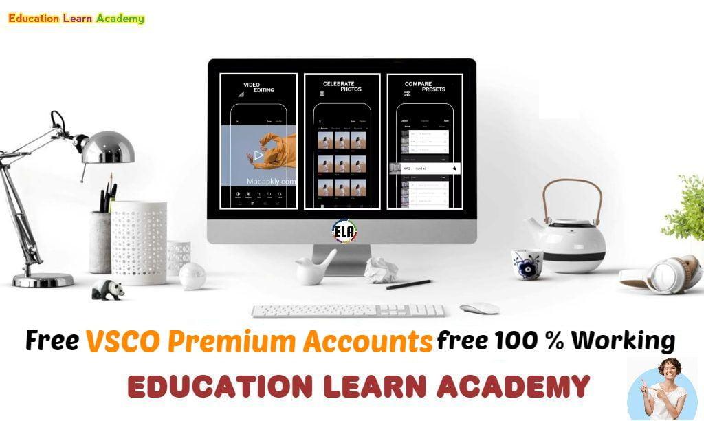Free VSCO Premium Accounts educationlearnacademy