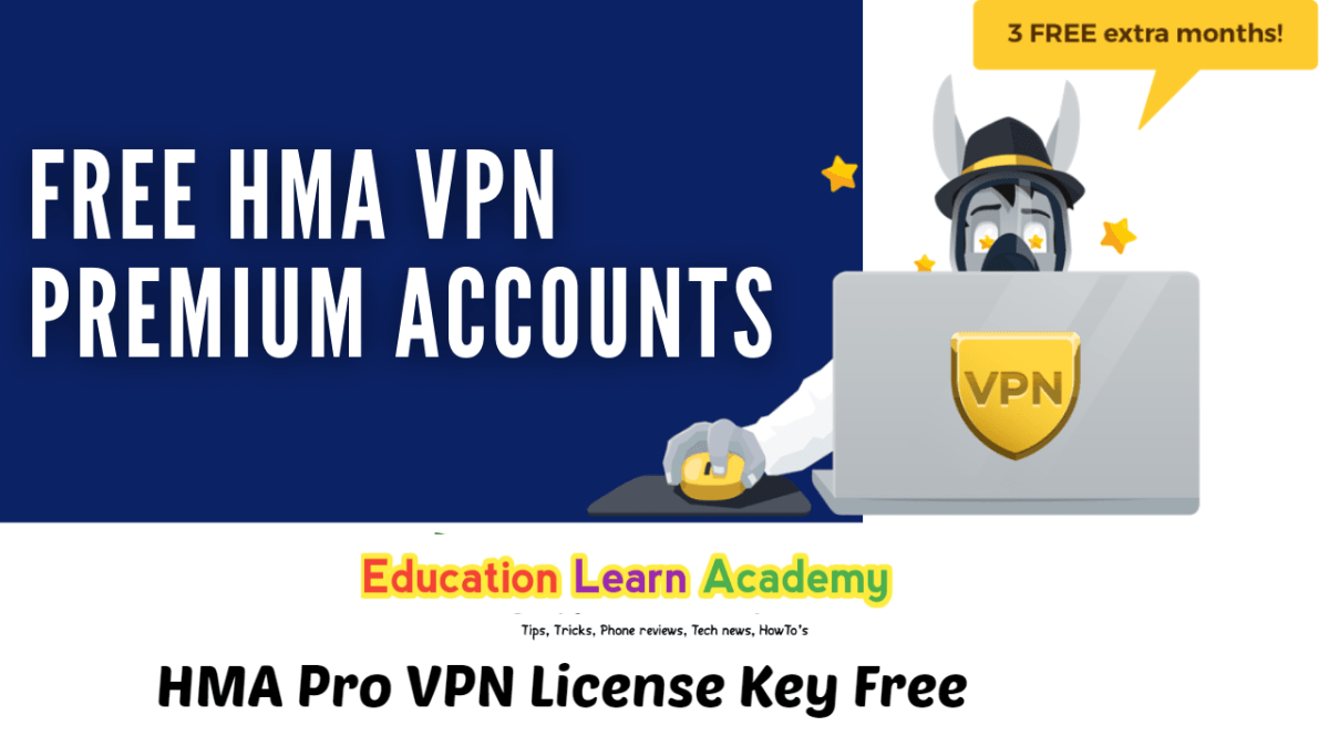 HMA VPN Premium Account Free | HMA Pro VPN License Key Free [Lifetime]100% Working