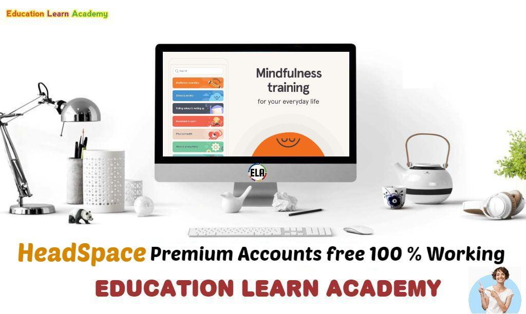 HeadSpace Premium Accounts