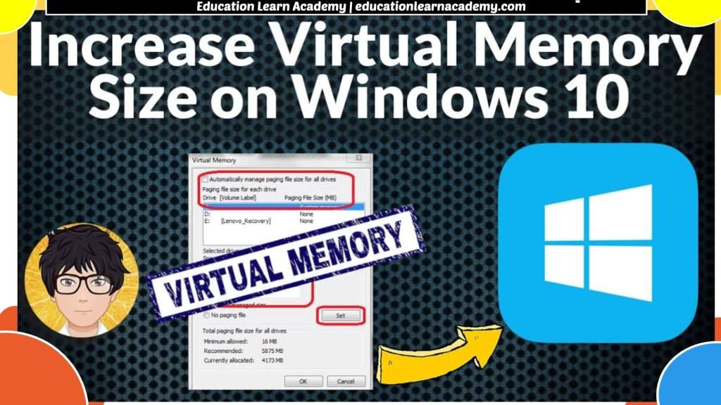 How To Change Windows 11 Virtual Memory Size