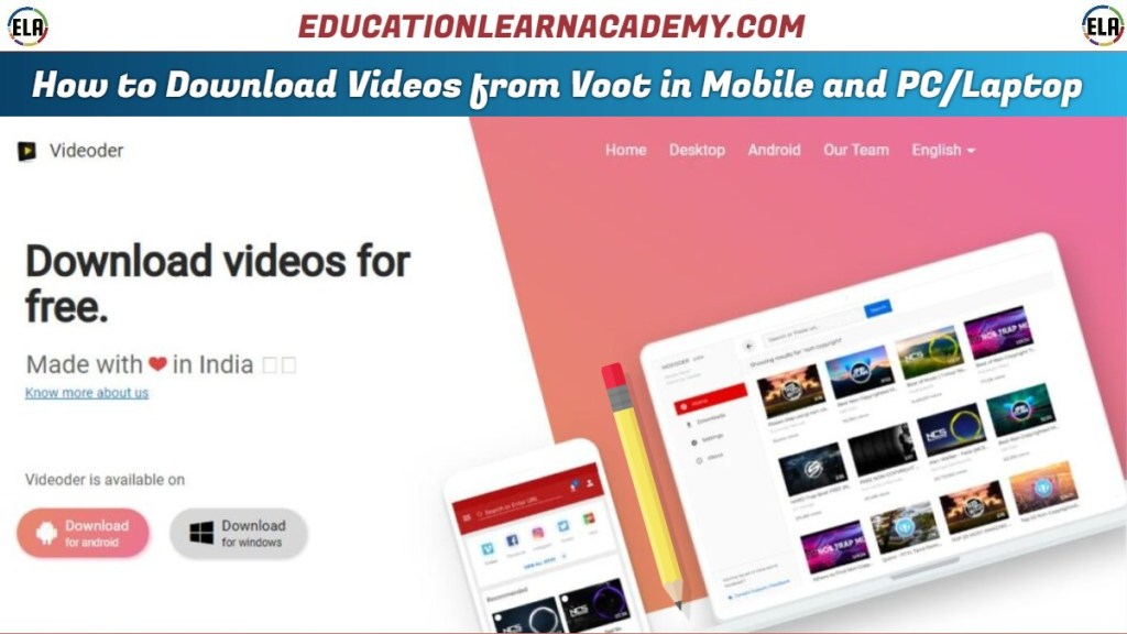 How to Download Videos from Voot in Mobile and PC/Laptop