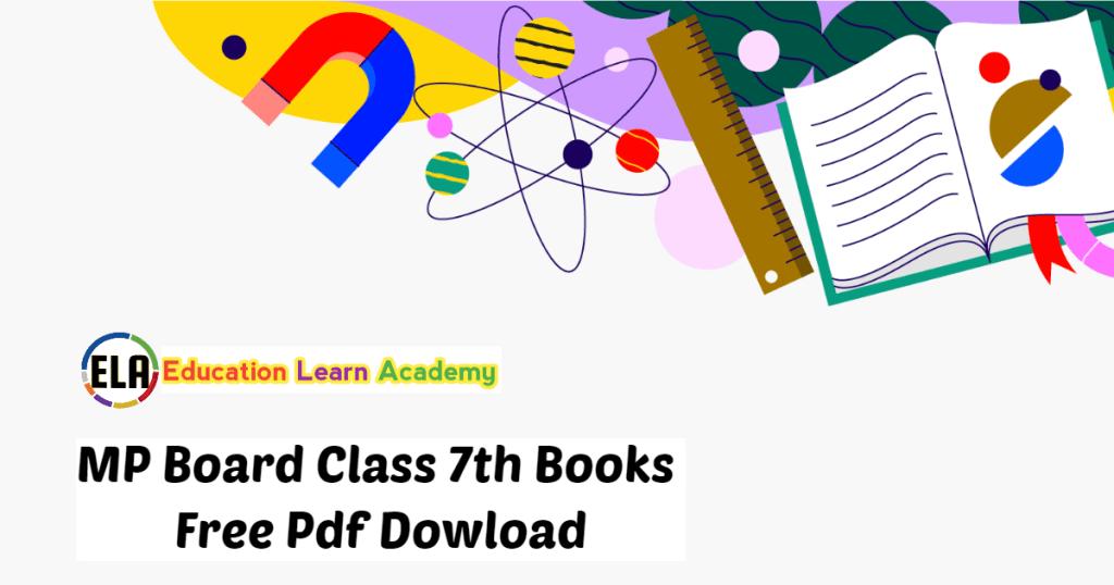 MP Board Class 7th Books Free Pdf Dowload
