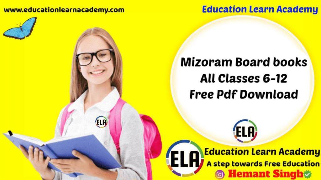 Mizoram Board Textbooks All Classes 6-12 Download