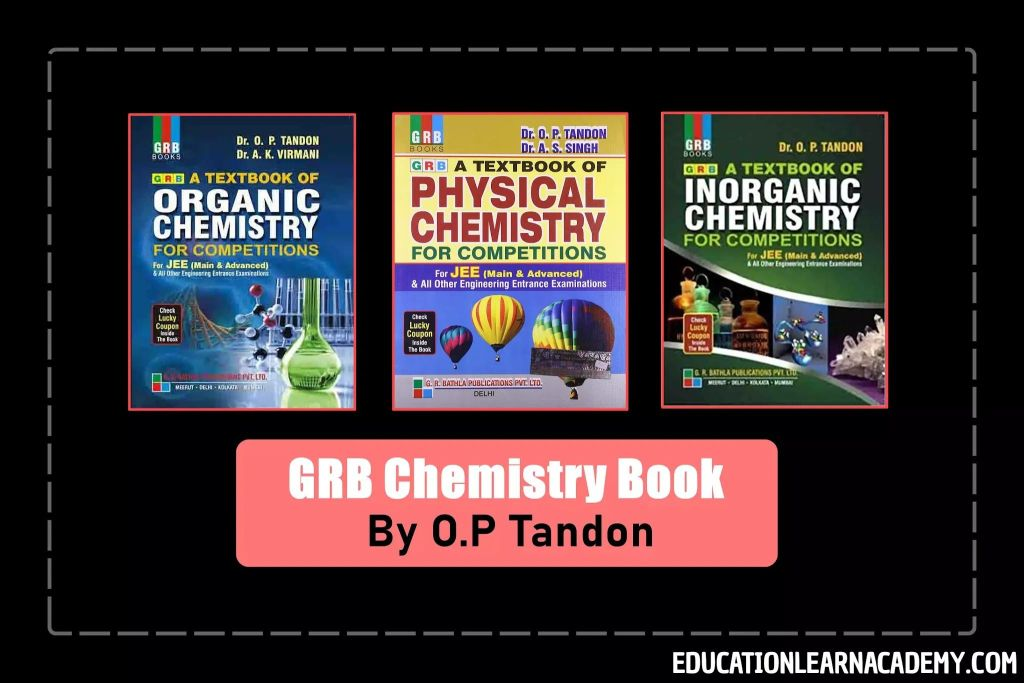 OP Tandon Solutions For Physical Chemistry IIT JEE PDF