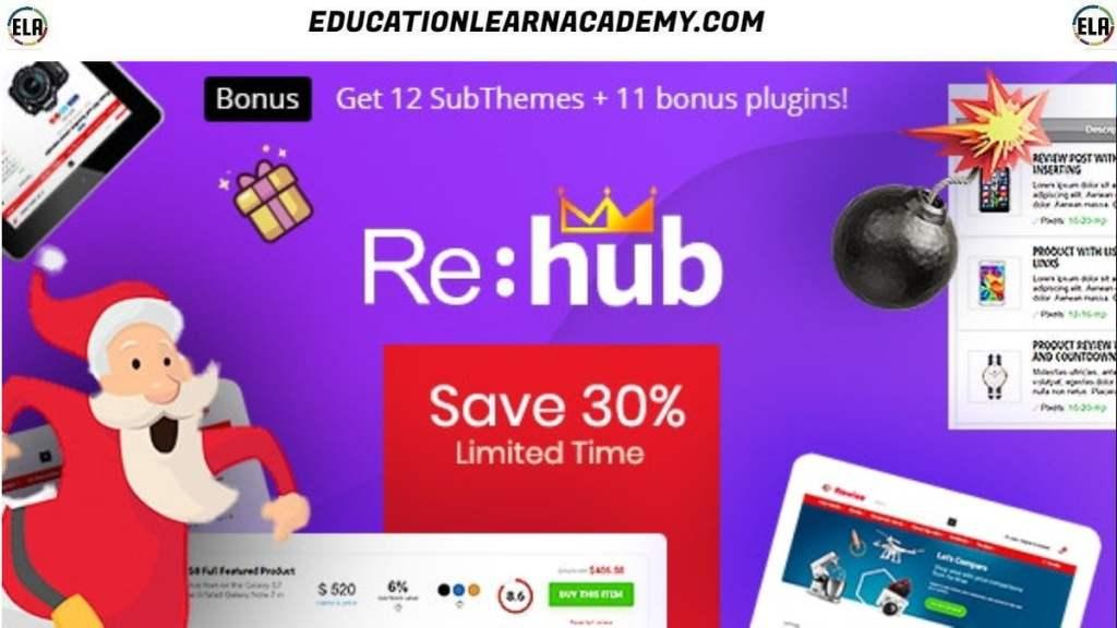 REHub Theme Free Download (Latest)