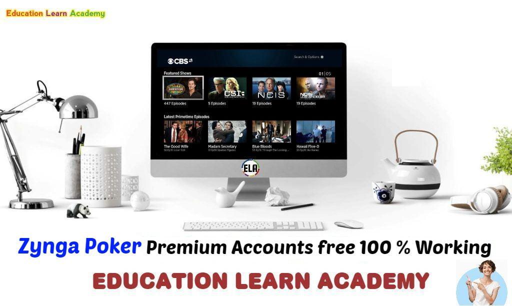 Zynga Poker Premium Accounts