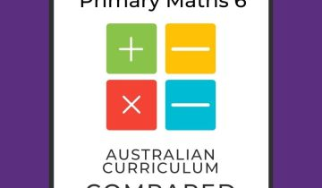 Singapore maths level 6 and Australian Curriculum compared
