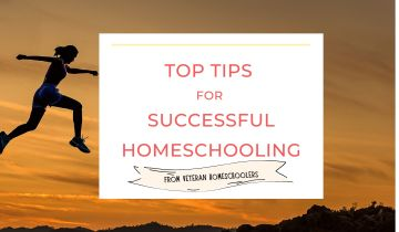 Top tips for successful homeschooling