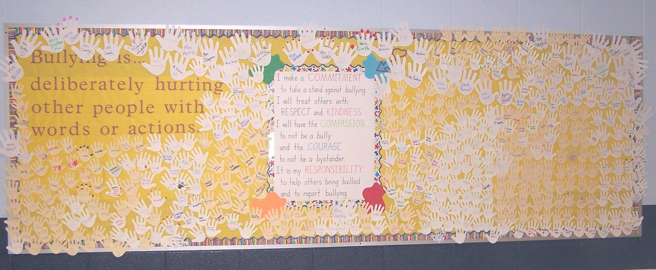 Kindness Bulletin Board Kindergarten