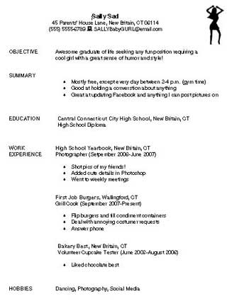 bad resume example bad resume example bad resume samples resumes