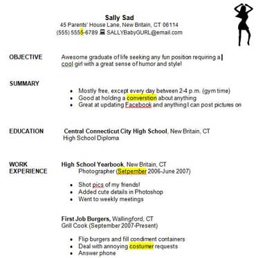 Resume High School Student No Experience. With. High School
