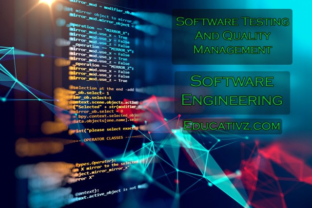 Software Testing And Quality Management Mcqs Latest Software Engineering Mcqs Educativz