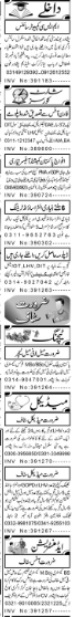 Aaj Newspaper Abbottabad Jobs 2021 Classifieds