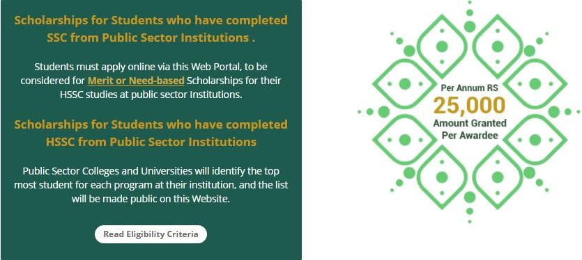 Govt Scholarships for Punjab Students 2021