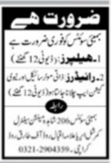 Latest Private Jobs in Karachi - Jang Ads Today 2021 Epaper