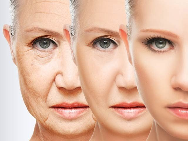 Aging ... is not continuous but comes in three stages, research