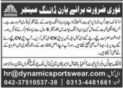 Dynamic support ware Private limited company Jobs 2021
