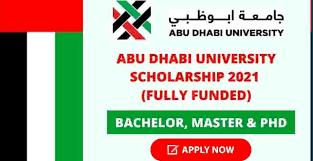Scholarship at Abu Dhabi University in UAE – Fully Funded