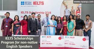 IELTS Scholarships Program for non-native English Speakers