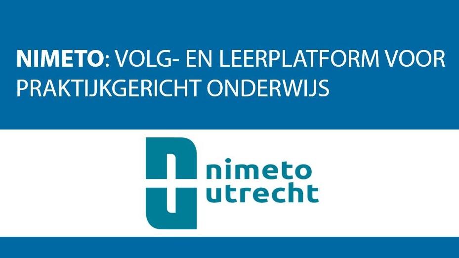 Nimeto en Educator: Een Volg- en Leerplatform voor praktijkgericht onderwijs