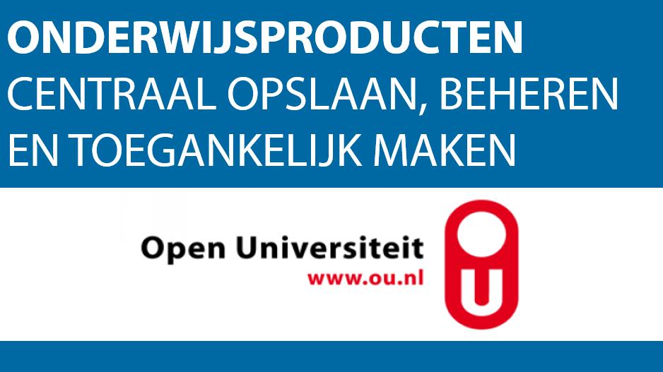 Onderwijscatalogus op maat voor de Open Universiteit