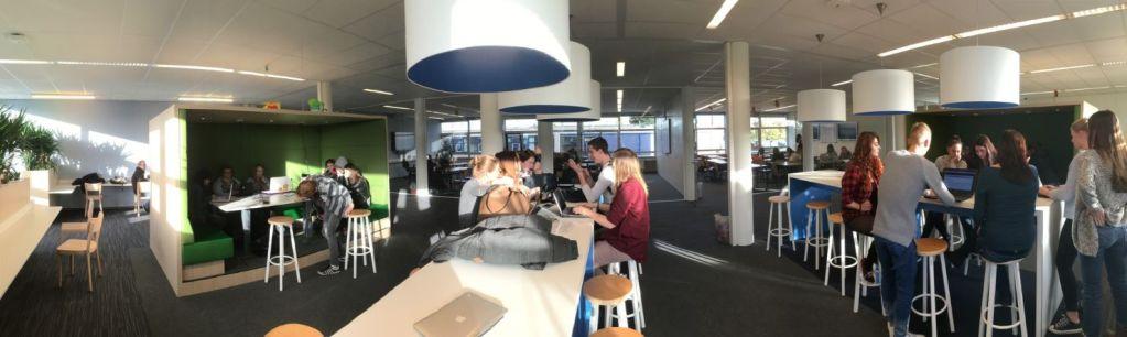 Diverse leeromgeving Onderwijs & Opvoeding bij Landstede, bron Dennis van Oeveren