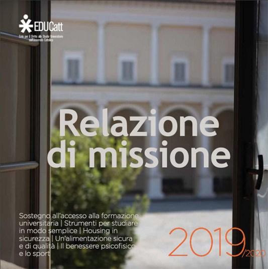 Cover Report di Missione