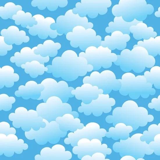 lienzo mural nubes Cuento infantil: Una máquina de nubes
