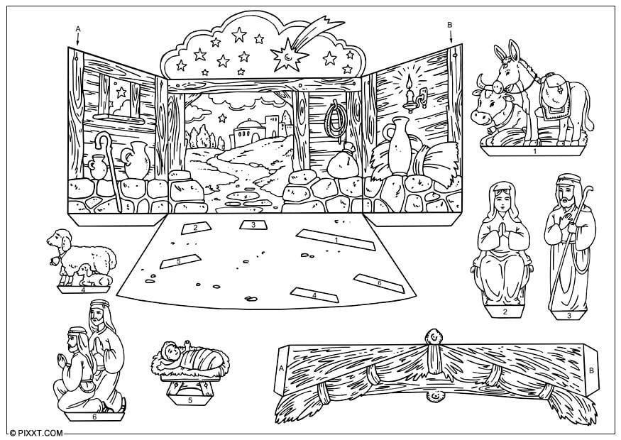 Bricolages Crche De Nol Bricolages Pour Enfants 28178