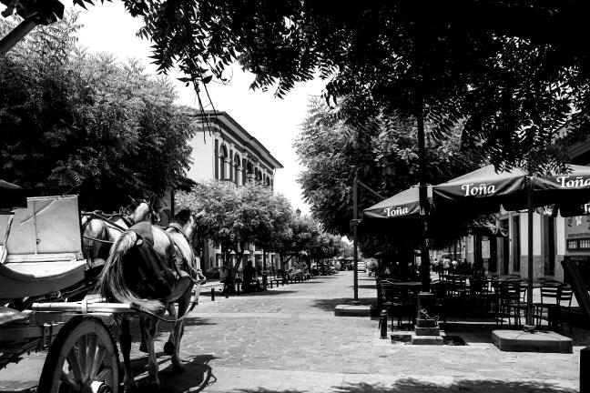 Downtown streets Granada, Nicaragua