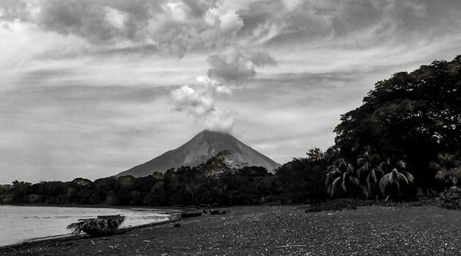 The beach Moyagalpa, Rivas, Nicaragua