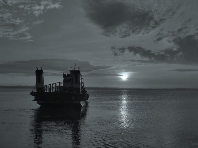 Atardecer en el lago Moyogalpa, Rivas, Nicaragua