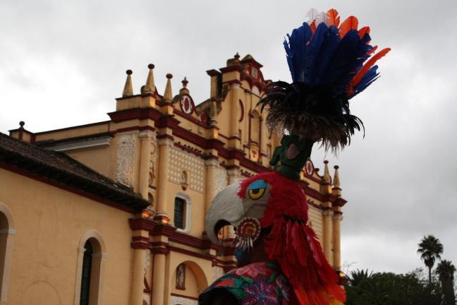 El hombrequetzal San Cristóbal de las Casas, Chiapas, México