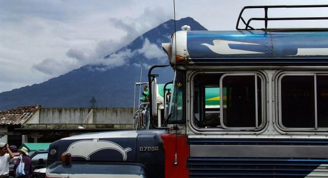 El terminal Antigua, Sacatepéquez Guatemala