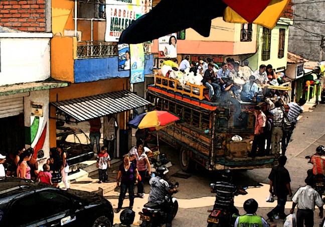 Domingo de mercado Supía, Caldas, Colombia