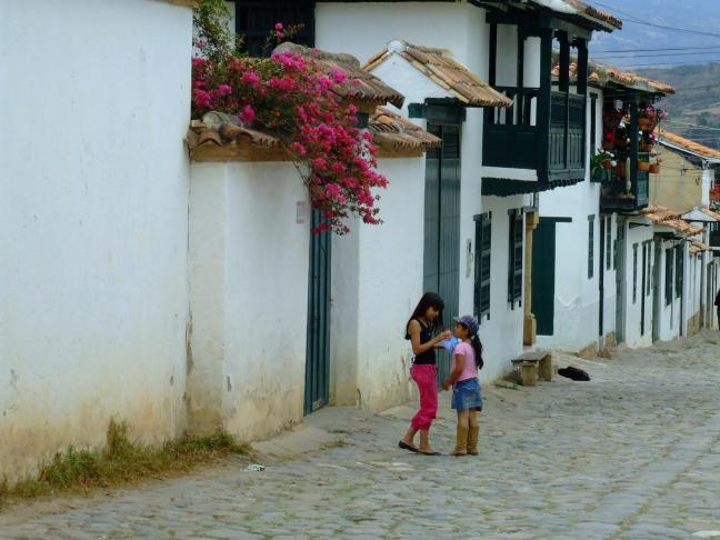 Encuentros callejeros Villa de Leyva, Boyacá, Colombia