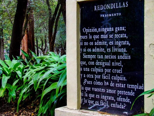 Redondillas Bosque de Chapultepec, Ciudad de México, México