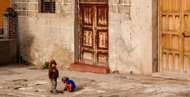 Por la mañana Ayacucho, Huamanga, Perú