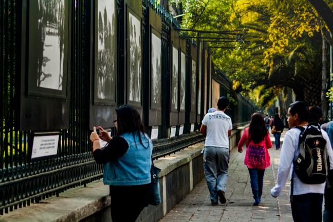 Recorrido visual Paseo de la Reforma, ciudad de México, México