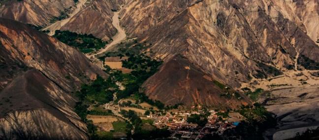 La vida en el valle Cañón de la Chicamocha, Santander, Colombia
