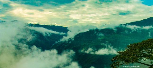 Hacia la frontera Camino Pasto a Ipiales, Nariño, Colombia