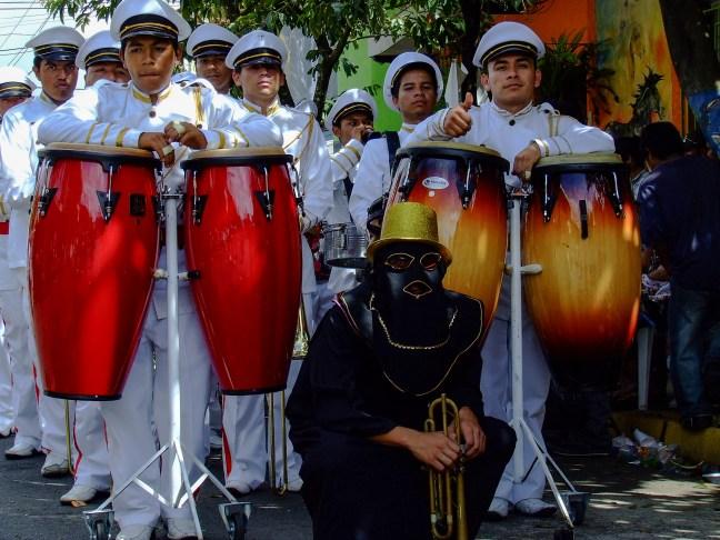 La salsa Juayua, Sonsonate, El Salvador