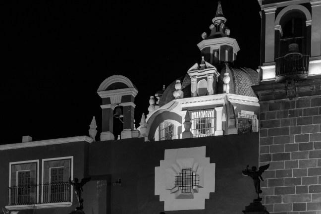 Los ángeles Catedral de Puebla, Puebla, México