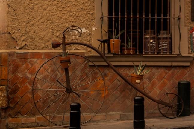 La bicicleta dee la María Querétaro, Querétaro, México