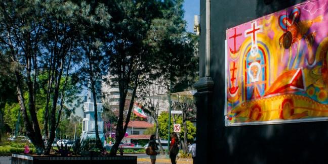 La glorieta Polanco, Cdmex, México