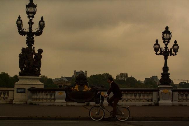 La bicicleta Paris, Francia
