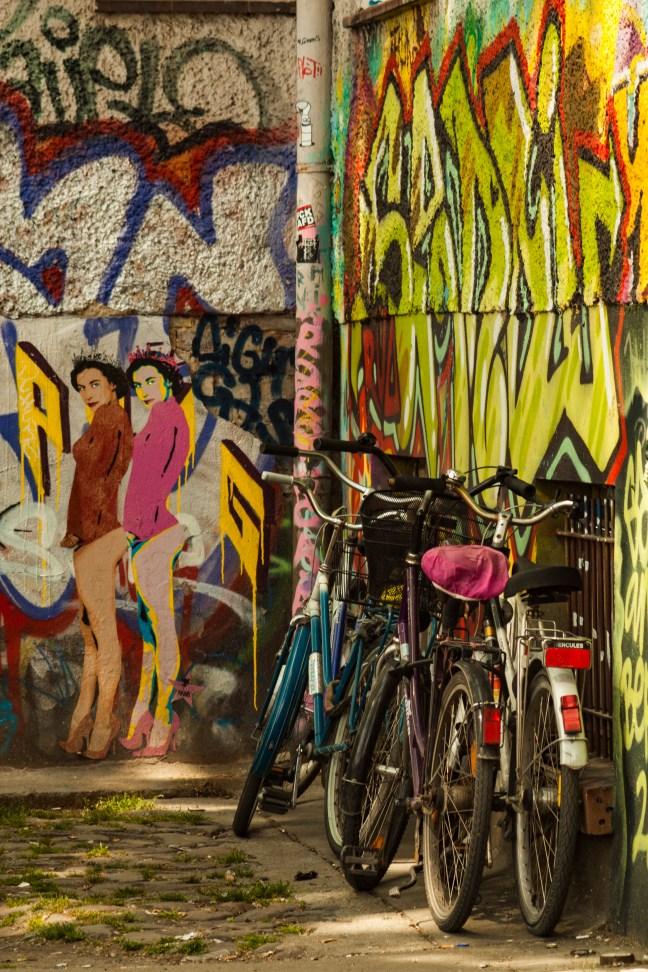 Las bicicletas     Berlin, Alemania