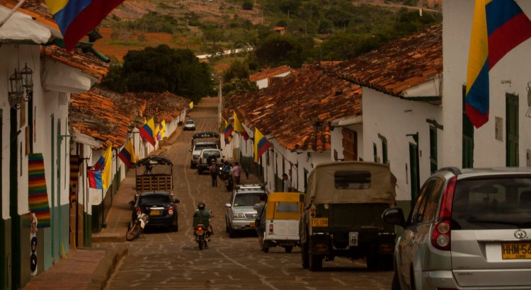 Día de la Independencia Barichara, Santander, Colombia