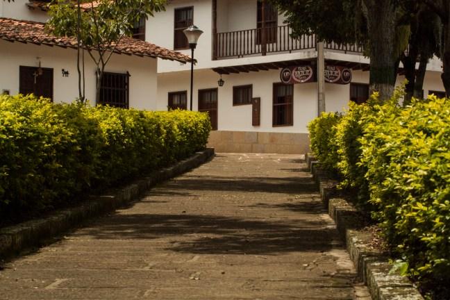 Los andenes del parque Pinchote, Santander, Colombia